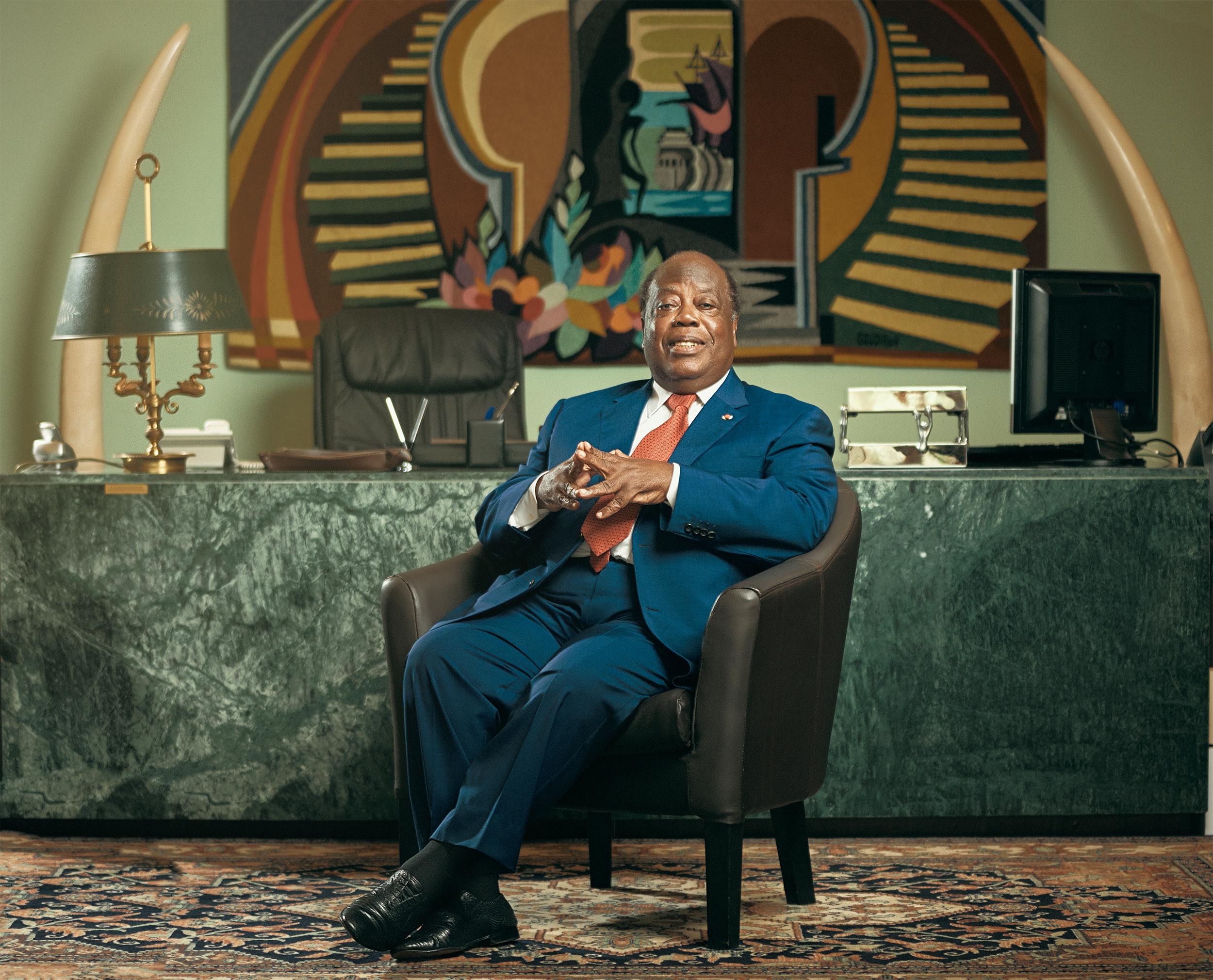 Jeune Afrique – Charles Konan Banny – By Issam Zejly – Septembre 2018 – 4
